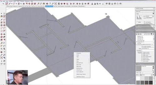 SketchUp for Construction Documentation: Generating Line Work