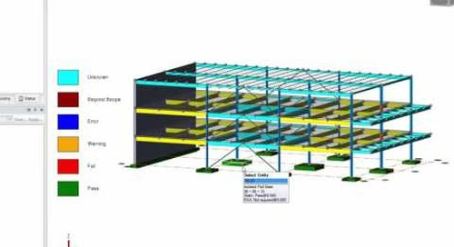 Tekla Structural Designer Foundation Design