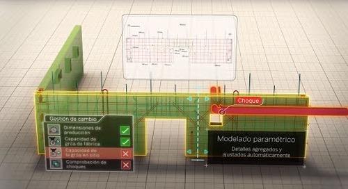 Tekla, Modelado Inteligente 3D para la Industria del Concreto Prefabricado