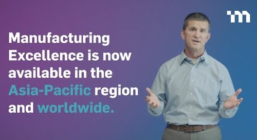 MasterControl Manufacturing Excellence - APAC