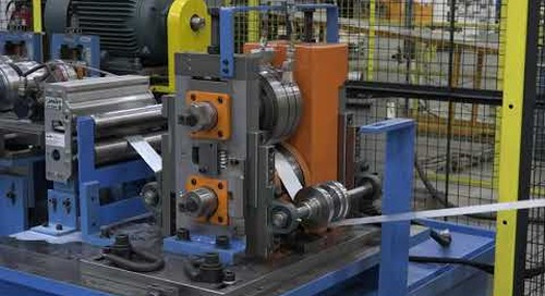 Samco Machinery Accessory Line with Side By Side Roll Tooling