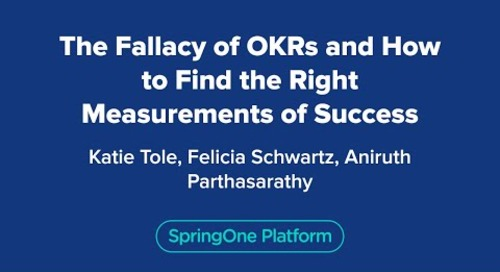 The Fallacy of OKRs and How to Find the Right Measurements of Success