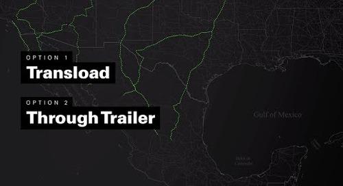 VIDEO: Through-Trailer v. Transloading