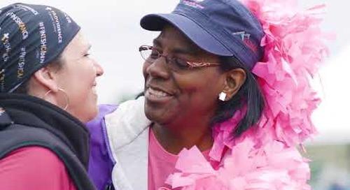 Alaska FinishCancer   Cece and Sara: Navigating cancer, together