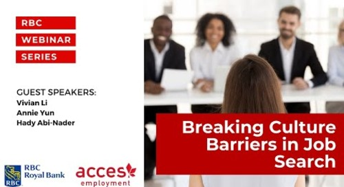RBC Royal Bank Webinar   Break Language and Culture Barriers and Launch your Career in Canada