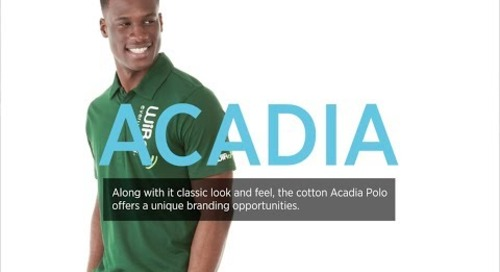 Acadia Short Sleeve Polo