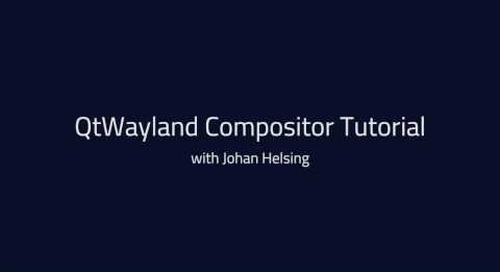 Qt Wayland Compositor API tutorial