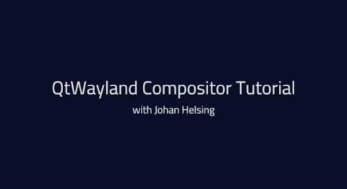 Qt Wayland Compositor API {tutorial}