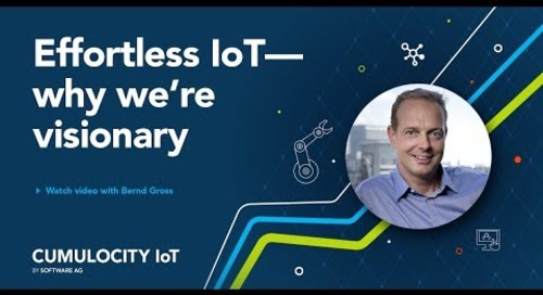 "Why Is Software AG an IIoT ""Visionary""?"