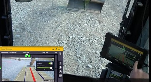Trimble Earthworks for Excavators - AR Camera