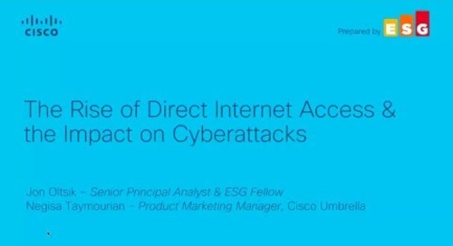 The Rise of Direct Internet Access and the Impact of Cyberattacks