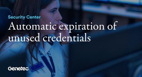 Automatic expiration of unused credentials