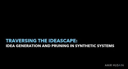Traversing the Ideascape: Idea Generation and Pruning in Synthetic Systems