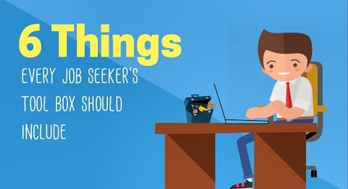 6 Things Every Job Seeker's Tool Box Should Include