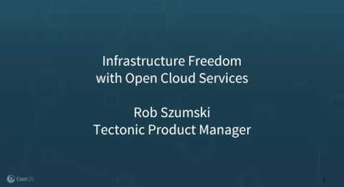Kill your cloud bill and own your infrastructure, with Open Cloud Services