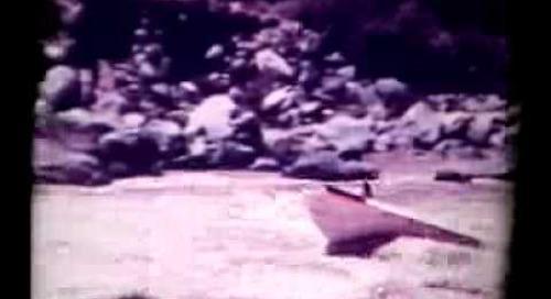 Colorado River 1960 world first jet boat upstream