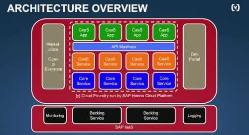 René Welches - Commerce as a Service with Cloud Foundry (Cloud Foundry Summit 2014)