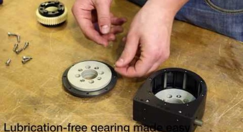 igus® robolink Assembly Part 1 - worm gear