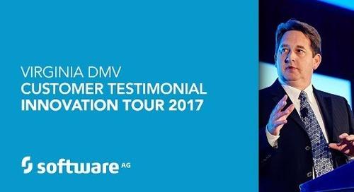 Virginia DMV - Customer Testimonial - Innovation Tour 2017