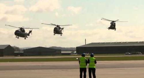 Royal Navy begins transfer of ex-RAF Merlins to Yeovilton