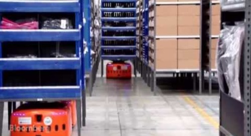 Meet the Robots Filling Your Cyber Monday Amazon Orders