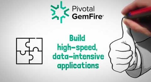 Pivotal GemFire in 30 seconds