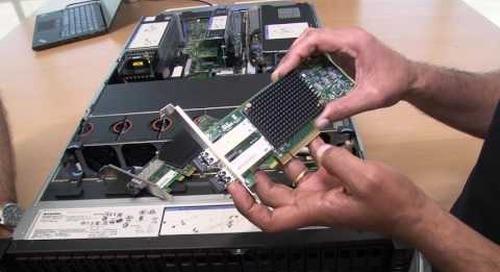 Emulex 16Gb Gen 6 Fibre Channel HBA Video Walkthrough