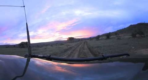 360 degree - Heading out on morning game drive in Laikipia