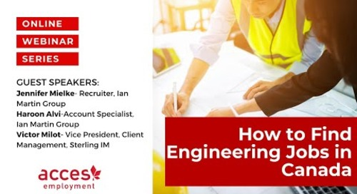 How to Find Engineering Jobs in Canada