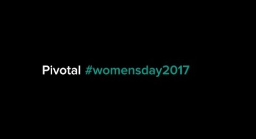 Pivotal #WomensDay2017