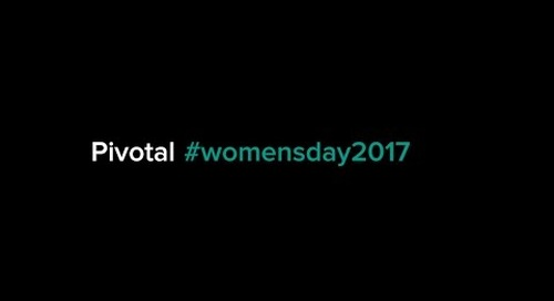 Pivotal #WomensDay2017
