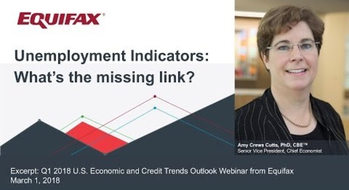 Unemployment Indicators: What's the missing link?