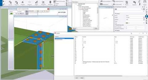 Custom Components  - Getting Started with Formulas in Tekla Structures