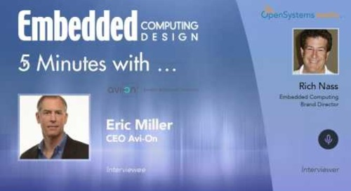 Five Minutes with…Eric Miller, CEO Avi-On