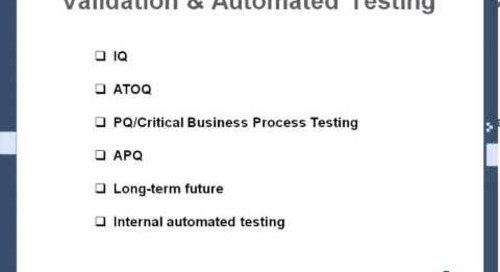 MasterControl Implementations Accelerated