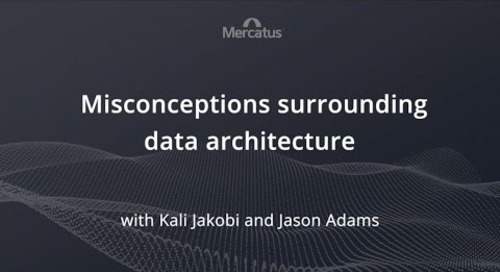 Misconceptions surrounding data architecture