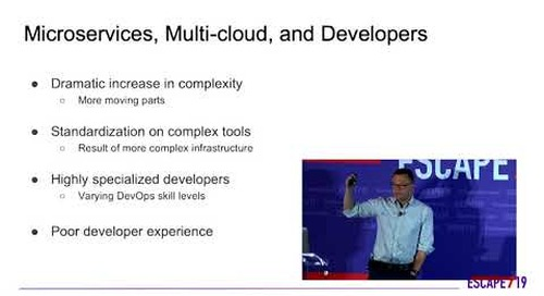 ESCAPE Conference 2019: Microservices Enable Multi-Cloud & Hurt Developers -- Ethan Jackson, Kelda