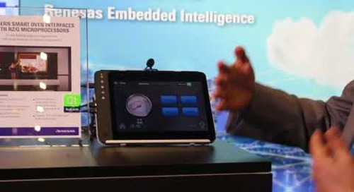 Qt Smart Oven with Renesas RZ/G Linux Platform