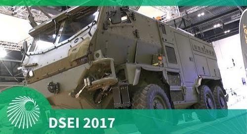 DSEI 2017: Supacat's HMT Light Weight Recovery vehicle