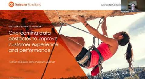 Overcoming data obstacles to improve customer experience and performance