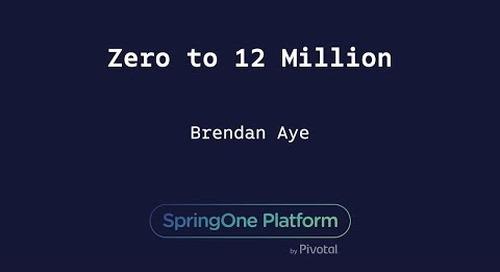 Zero to 12 Million - Brendan Aye, T-Mobile