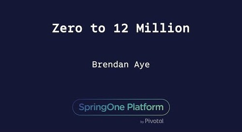 Zero to 12 Million - Brendan Aye, T-Mobile