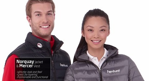 Elevate Norquay Insulated Jacket and Mercer Insulated Vest