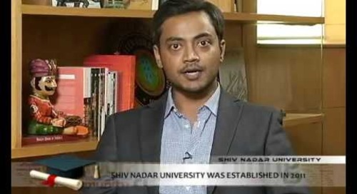 NDTV Prime's coverage of Shiv Nadar University's First Convocation Ceremony