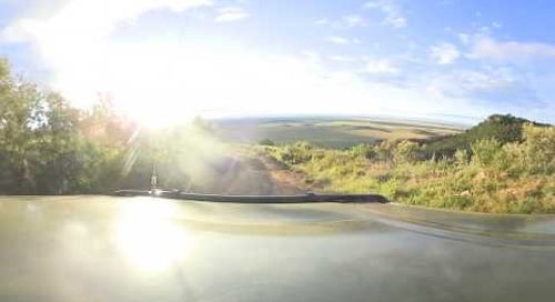 360 degree - Heading out for morning game drive into the Masai Mara