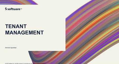 webMethods.io Integration Tutorials - Tenant Management
