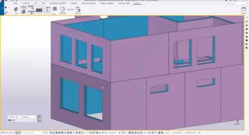 Tekla Structures for Double Walls