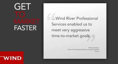 Wind River Professional Services--Making Your Innovative Ideas Happen