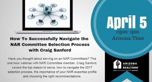 NAR Committee Selection Process 4.7.2016