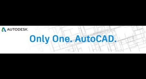AutoCAD 2019 Product Overview Video